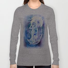 Goddess of Aquarius - An Air Elemental Long Sleeve T-shirt