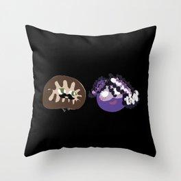 DNA Squad! Throw Pillow