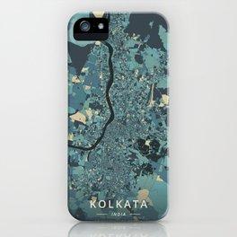 Kolkata, India - Cream Blue iPhone Case