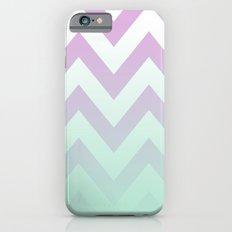 PINK CHEVRON MINT FADE iPhone 6 Slim Case