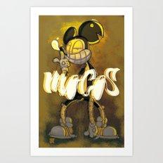 LOCO MOCOS Art Print