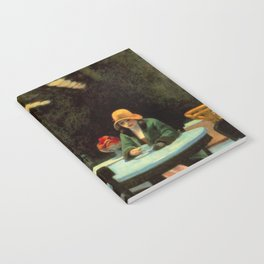 AUTOMAT - EDWARD HOPPER Notebook