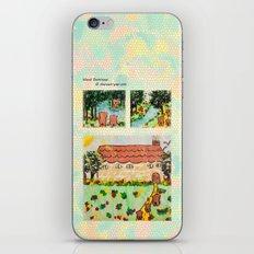 Wood Dominoes - Colour - #1 iPhone & iPod Skin