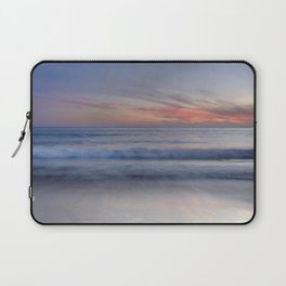 """Magical waves at sunset"" Laptop Sleeve"