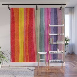 Willow Stripe Wall Mural