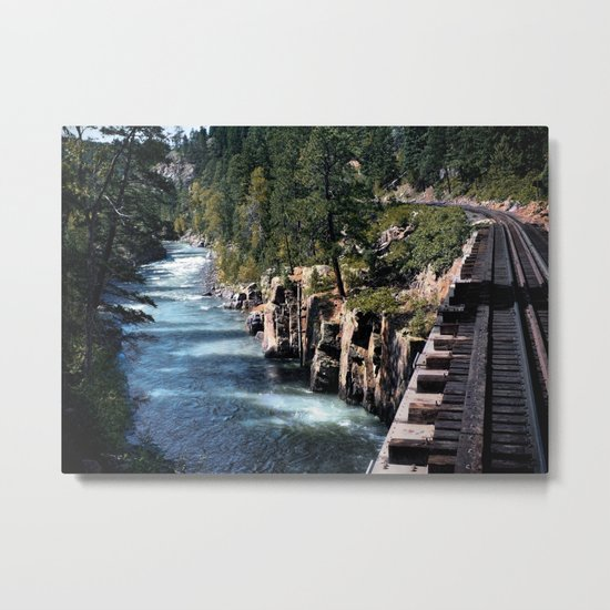 The Crossing Metal Print