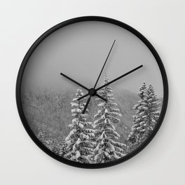 Snow2 Wall Clock