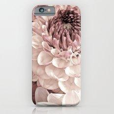 Romantic Pastel Dahlias iPhone 6 Slim Case