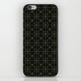 fleur-de-lis iPhone Skin