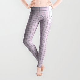 Not Your Granny's Square Pattern in Millennial Pink Leggings