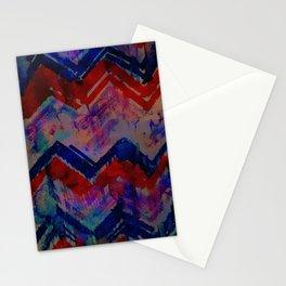 Ikat Chevron 4A Stationery Cards