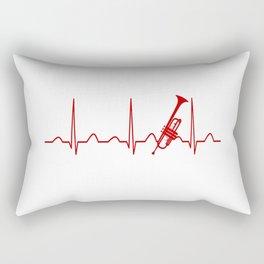 TRUMPET HEARTBEAT Rectangular Pillow
