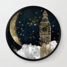 Cloud Cities London Wall Clock
