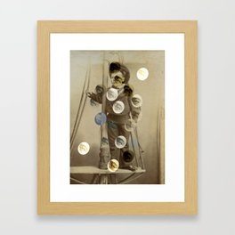 On the Watchtower Framed Art Print
