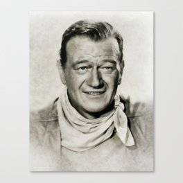 John Wayne, Vintage Actor Canvas Print