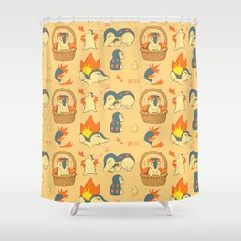 Quils! Shower Curtain