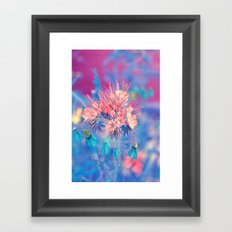 Power mix Framed Art Print