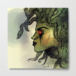 Medusa Vibes Metal Print