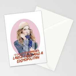 CARRIE - SEX & THE CITY Stationery Cards