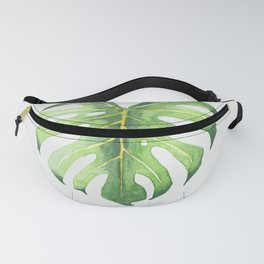 Tropical leaves: Monstera Fanny Pack