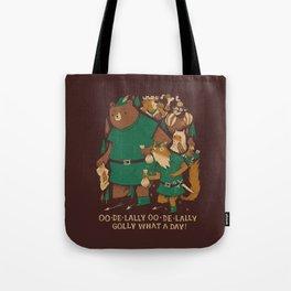 oo-de-lally (brown version) Tote Bag