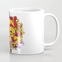 rockabilly Mugs featuring Sinful rockabilly  by Tshirt-Factory
