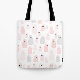 ghosts with heart eyes Tote Bag