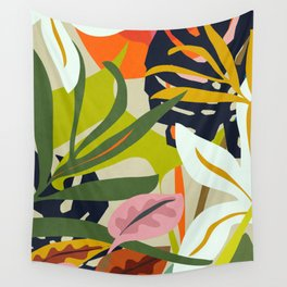 Jungle Abstract 2 Wall Tapestry
