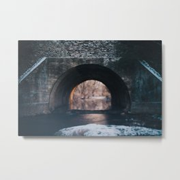 Cold Tunnel  Metal Print