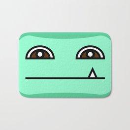 Green Tooth Bath Mat