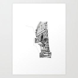 Cattedrale di Santa Maria del Fiore - Firenze Art Print