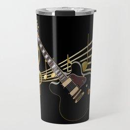 Guitar Music Travel Mug