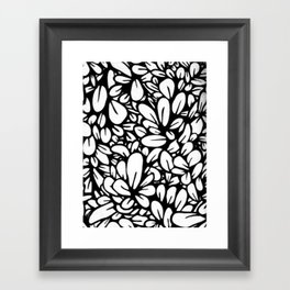Crazy Flowers Framed Art Print
