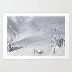Planet Snow 1 Art Print