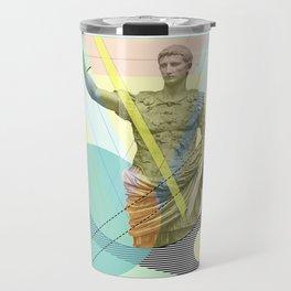 augustus the emperor Travel Mug