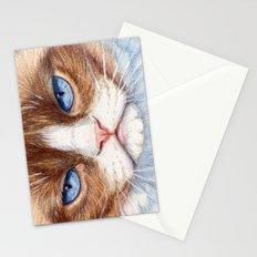 Grumpy kitty 866 Stationery Cards