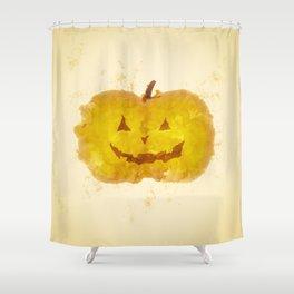 pumpakina Shower Curtain
