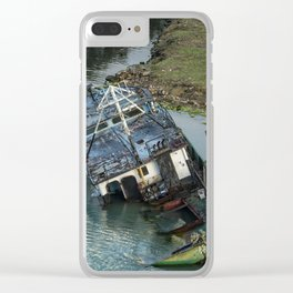 Submerged in Color Clear iPhone Case