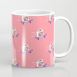 Let's Roll! Peachy Coffee Mug