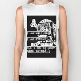 want & need Biker Tank