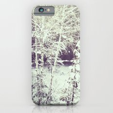 winter forest Slim Case iPhone 6s