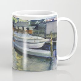 Winter chill at Bowen's Basin, 1998 Coffee Mug