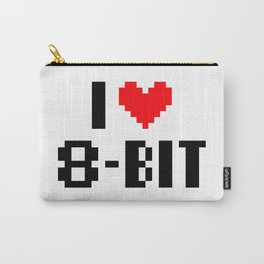 i (heart) 8bit Carry-All Pouch