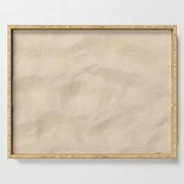 Light Brown Sand texture Serving Tray