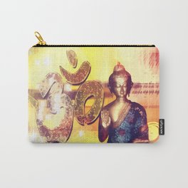 Buddha und Om Zeichen - Vektor Carry-All Pouch