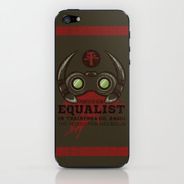 Equalist in Training iPhone Skin