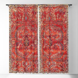 Sarouk Arak West Persian Carpet Print Blackout Curtain