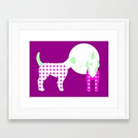 puppies Framed Art Prints featuring Puppies by Silja Rouvinen