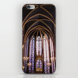 Sainte Chappelle iPhone Skin