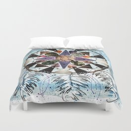Dream Catcher Mandala Duvet Cover